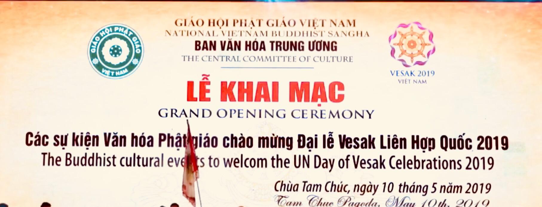 Hà Nam:  Khai mạc Các sự kiện văn hoá Phật Giáo Đại Lễ Vesak 2019 -  Pl.2563