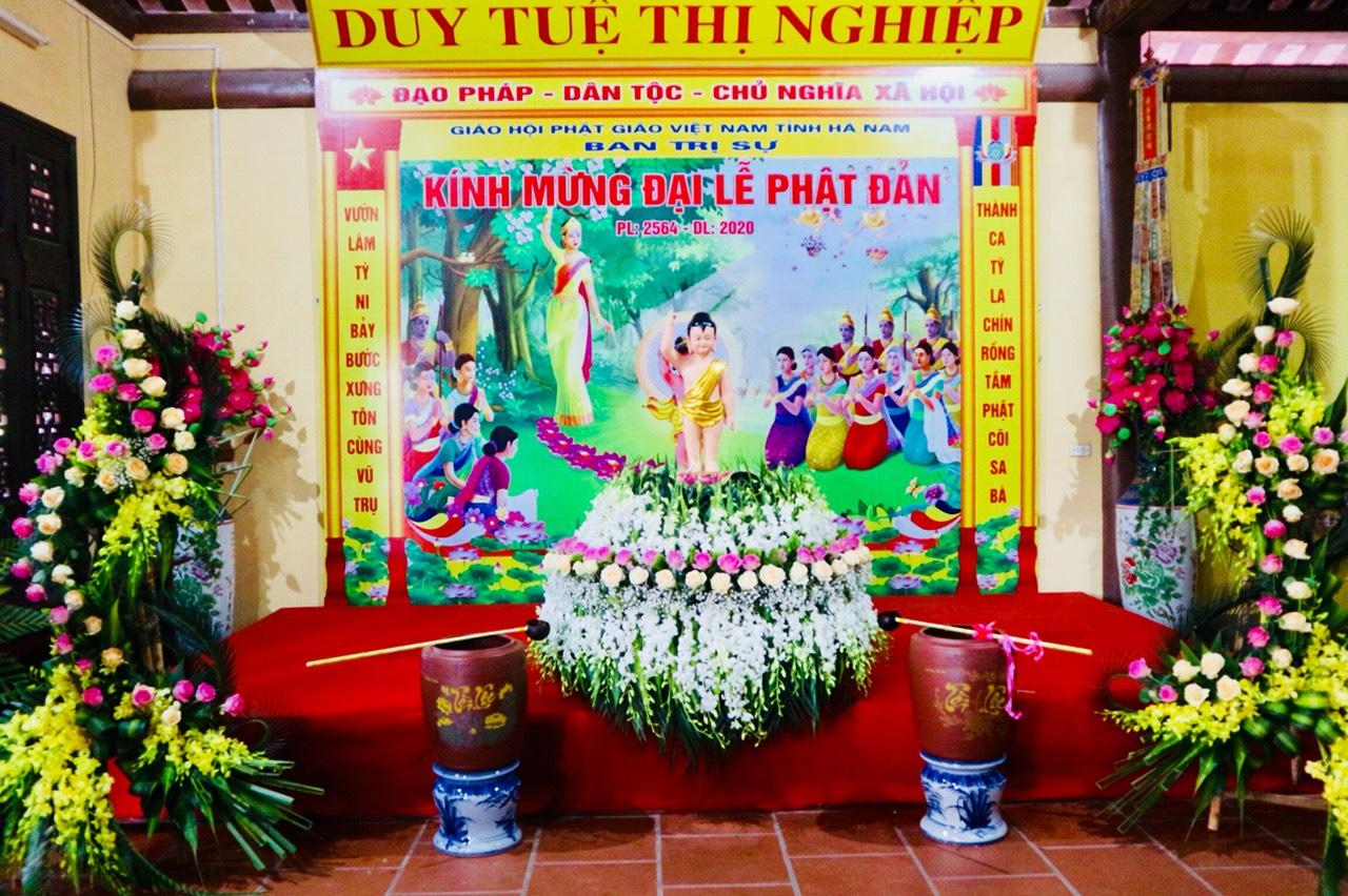 Ban Trị Sự GHPGVN tỉnh Hà Nam  kính mừng lễ  Phật đản PL.2564 - DL.2020