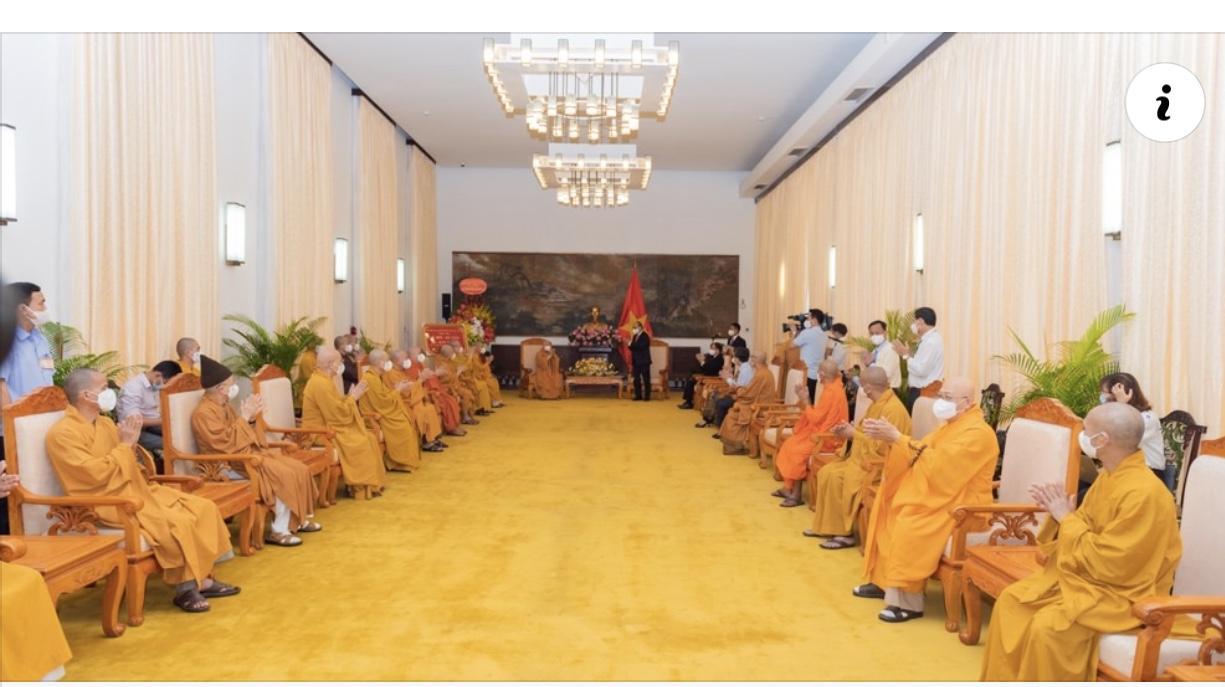Chủ tịch nước: Phật giáo luôn có vai trò quan trọng trong việc