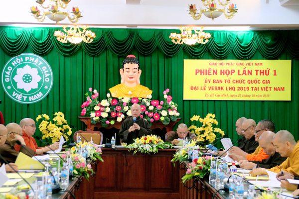 [TP. HCM]Phiên họp lần thứ nhất Ủy ban tổ chức Quốc gia Đại lễ Vesak LHQ 2019 tại Việt Nam